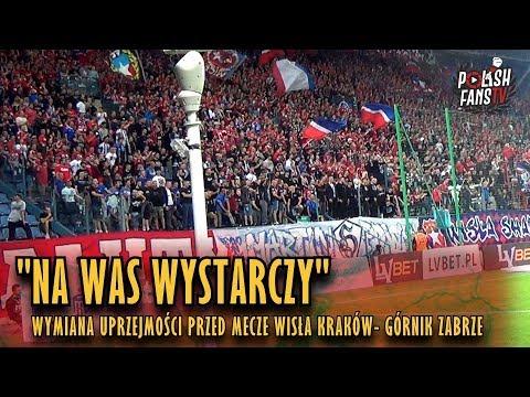 """""""NA WAS WYSTARCZY"""" uprzejmości przed meczem Wisła Kraków - Górnik Zabrze (25.08.2018 r.)"""