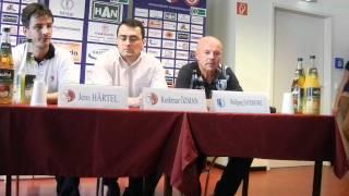 Pressekonferenz - Berliner AK 07 - 1. FC Magdeburg - www.sportfotos-md.de