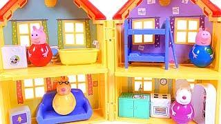 Mejores Videos para Niños Aprendiendo - Peppa Pig Learning Colors Peppa's House Fun Videos For Kids