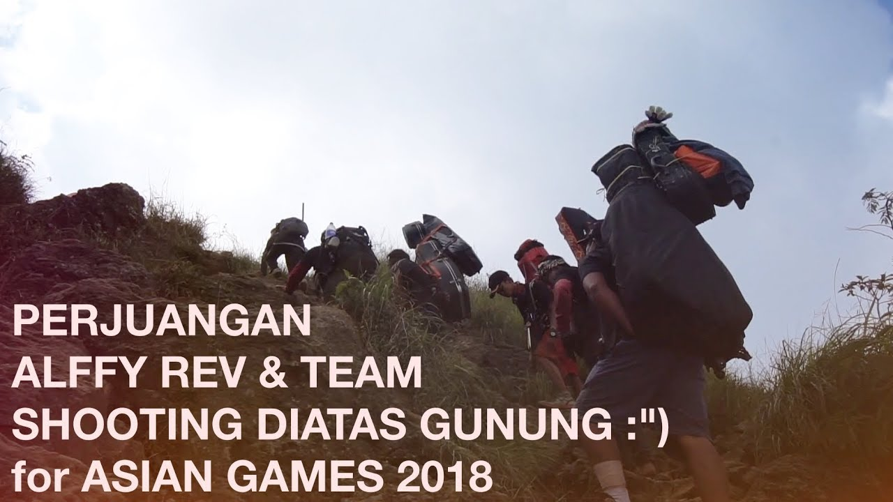 Dibalik PROSES Alffy Rev dan Team for Official Song ASIAN GAMES 2018 - BUKAN VLOG BIASA eps 3