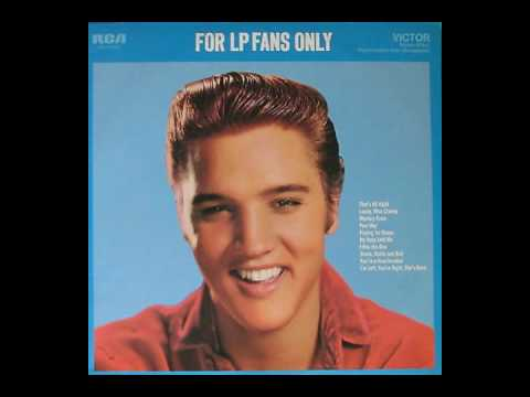 Elvis Presley For LP Fans Only c 1959 in re processed stereo