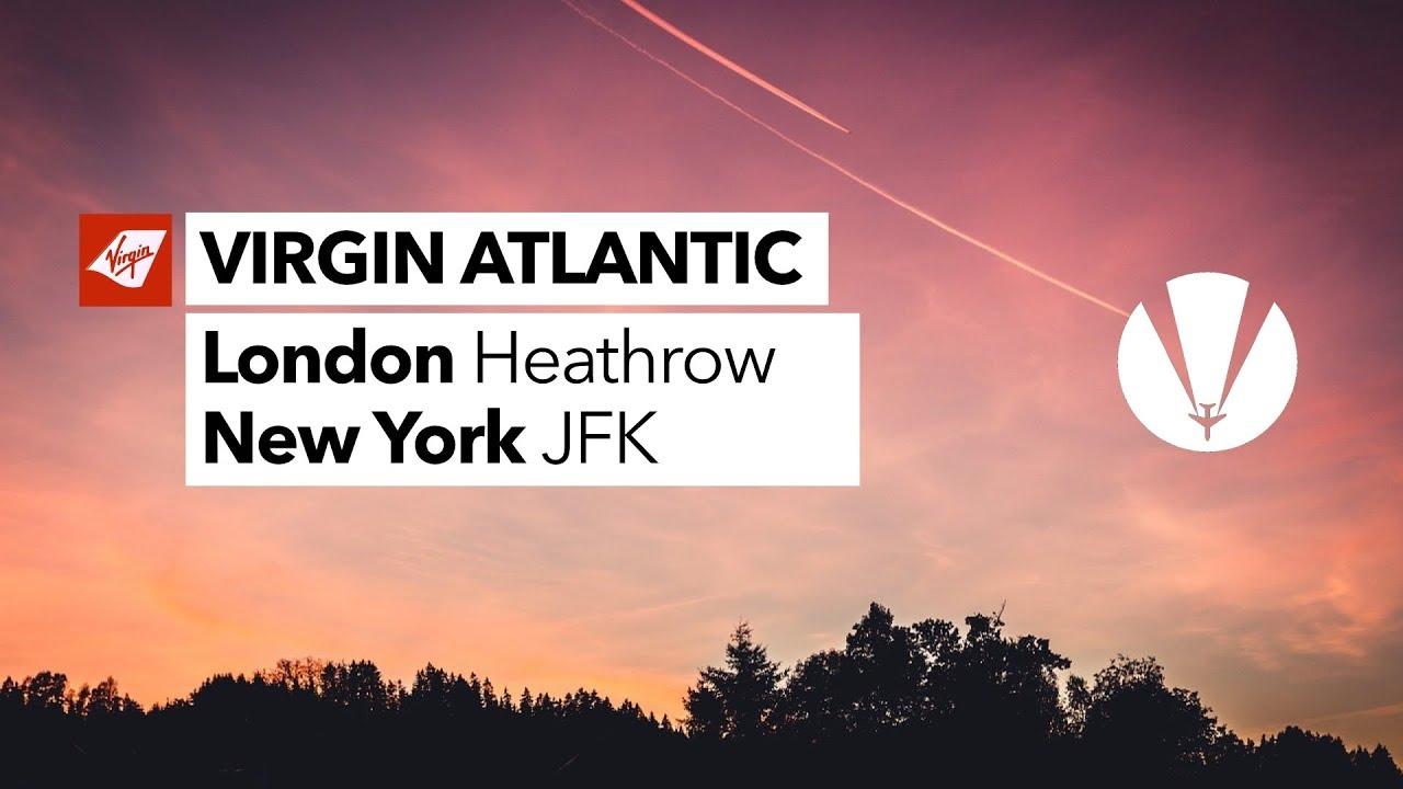 *VAPOUR TRAILS* | VIRGIN ATLANTIC | A340 | London Heathrow to New York JFK | Flight Report