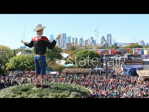 Dallas state fair - from above!