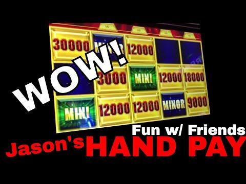🎰 HIGH LIMIT Group Pull & Jason's HAND PAY Bonus! 💰 ✦ Slot Machines w Brian Christopher