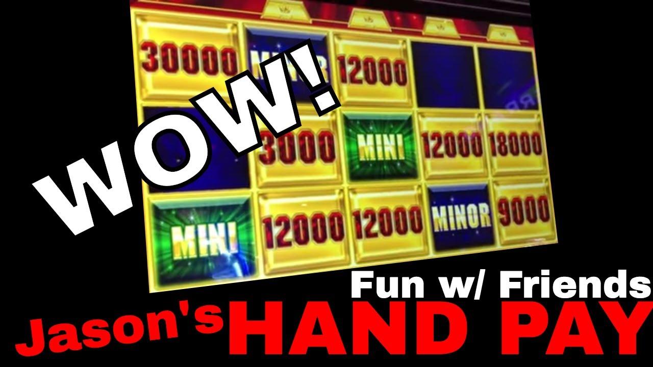 🎰 HIGH LIMIT Group Pull & Jason\'s HAND PAY Bonus! 💰 ✦ Slot ...