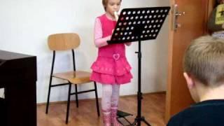 Anin prvi solo nastup