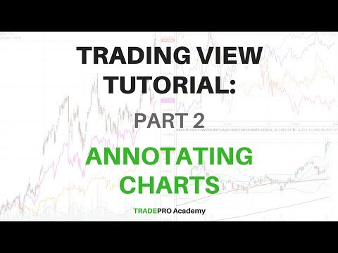 TradingView Tutorial Part 2 - How to Use the Charts to Draw Technical Analysis
