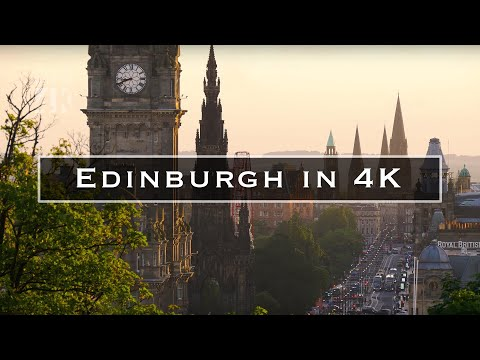 Edinburgh in 4K