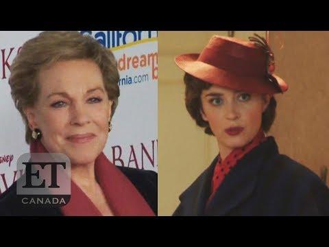 Julie Andrews Competes Against Emily Blunt