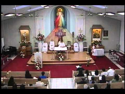 Thánh Lễ Thứ Hai sau Chúa Nhật Kính Lòng Chúa Thương Xót Ngày 15-4-2012