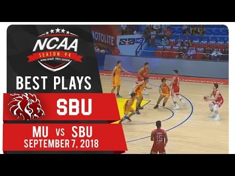 NCAA 94 MB: Calvin Oftana nails slick scoop shot through Mapua's defense! | SBU | Best Plays