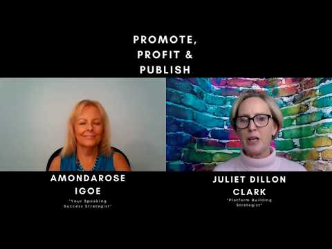 Promote, Profit and Publish with Juliet Dillon Clark and AmondaRose