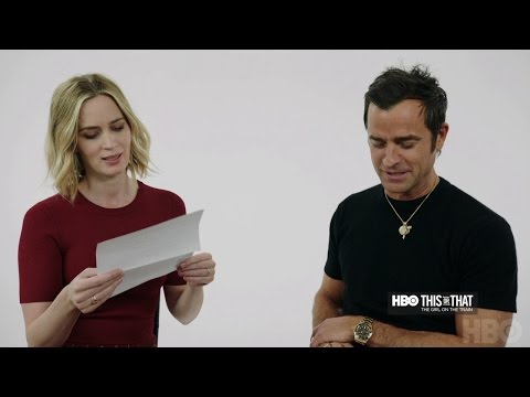 HBO Exclusive Access: This or That with Emily Blunt and Justin Theroux