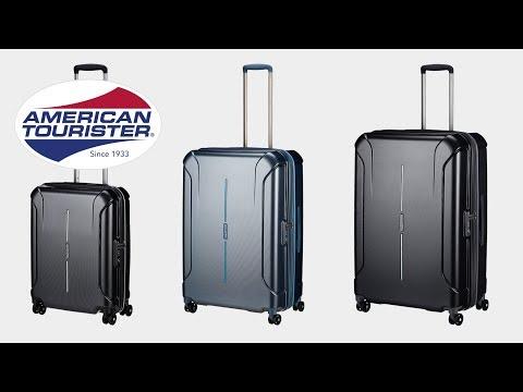 American Tourister - Technum 4-Rollen-Trolley   Koffer-direkt.de