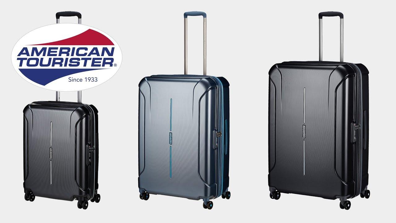 american tourister technum 4 rollen trolley koffer. Black Bedroom Furniture Sets. Home Design Ideas