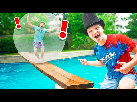 DON'T Fall Off THE PLANK CHALLENGE!