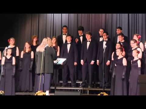 Highland High School IL Jazz Choir  Java Jive  April 12, 2014