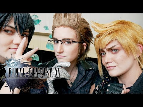 Final Fantasy XV: Relax and Reflect Cosplay Video