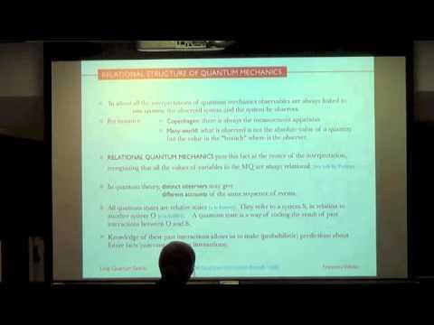 Francesca Vidotto: Atomism and Relationalism as Guiding Principles for Quantum Gravity