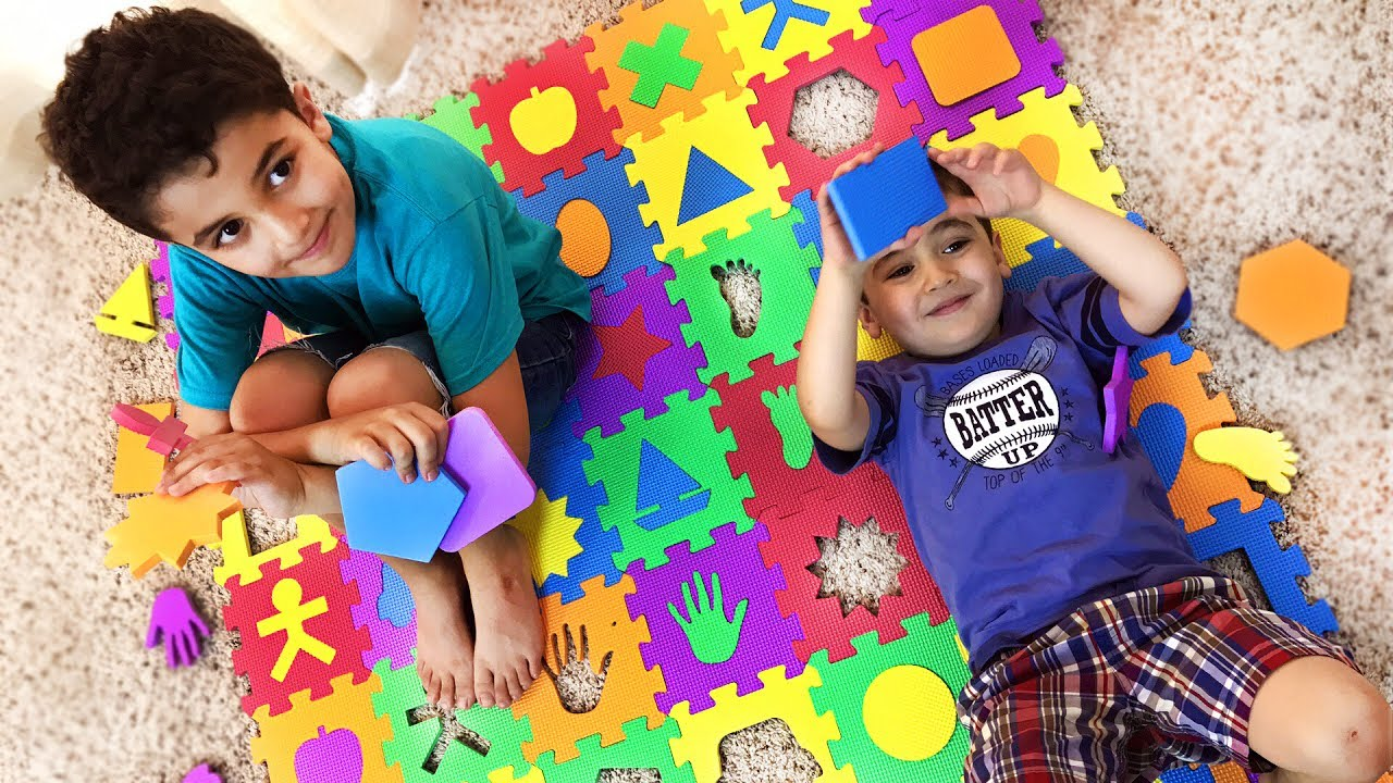 Big W Floor Mat Learn Shapes Colors W Big Squishy Foam Floor Mat Puzzle Let S Play Kids