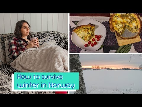 How to survive winter in Norway - Travel with Glow