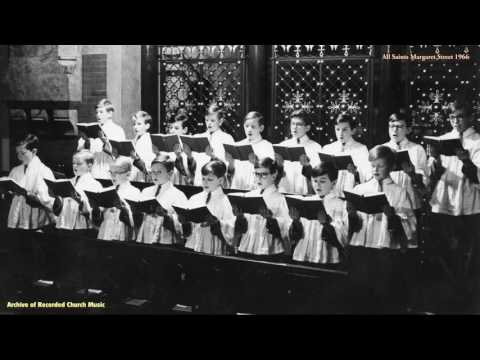 Concert: All Saints Margaret Street Choristers 1968 (Michael Fleming)