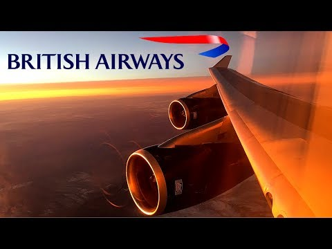 British Airways | 747-400 | London Heathrow  ✈ Phoenix (Sky Harbor) | Club World |