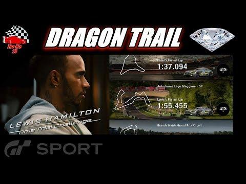 GT Sport Lewis Hamilton Dragon Trail Diamond Guide