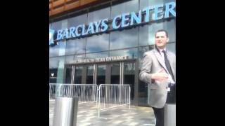 entering barclays center