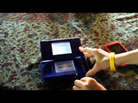 cool trick with the old nintendo ds