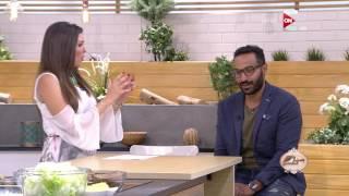 أحمد فهمي: منة حسين فهمي جعلني أرفض أكل البط!