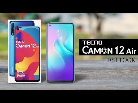 Tecno Camon 12 AIR Price In Pakistan With Complete Review And Specifications