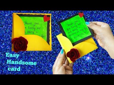 Easy Handmade Card||Cute Handmade love card||Handmade card Making|ArtHolic KM