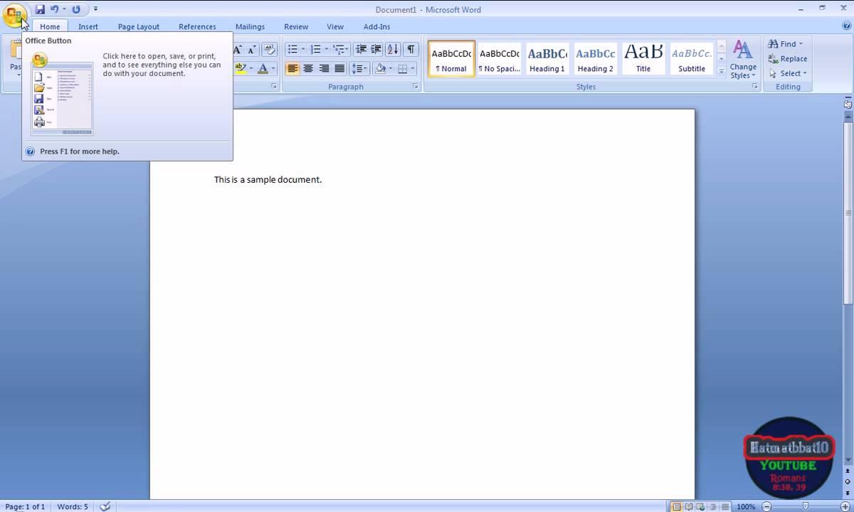 Microsoft Office 2007 Pdf Add In