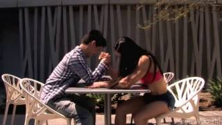 Mixted Arm Wrestling | she is stronger than him | Yeon Woo Jhi 1