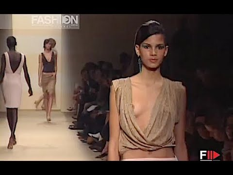 RIFAT OZBEK Spring Summer 2001 Milan - Fashion Channel
