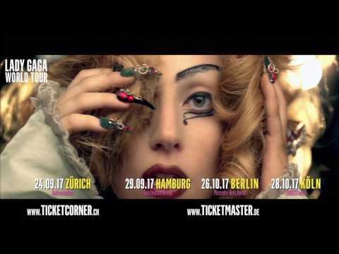 Lady Gaga | Joanne World Tour 2017 | Live Nation Germany Austria Switzerland