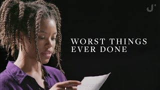 Reading The Worst Things People Have Ever Done MP3