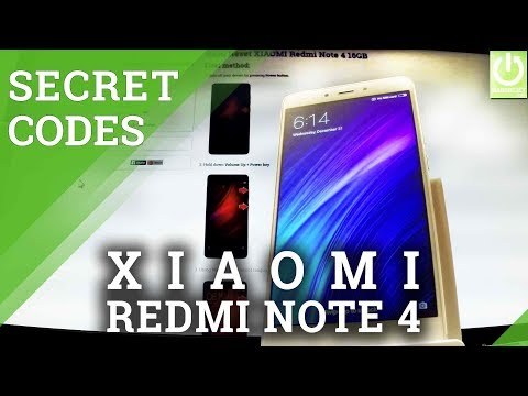 XIAOMI Redmi Note 4 CODES / HIDDEN MENU / ADVANCED FEAUTERS