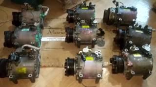 видео Компрессор кондиционера galant 8