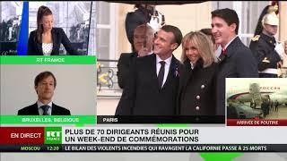 11 Novembre : Trump, Macron, Poutine… Commémorations sur fond de tensions diplomatiques