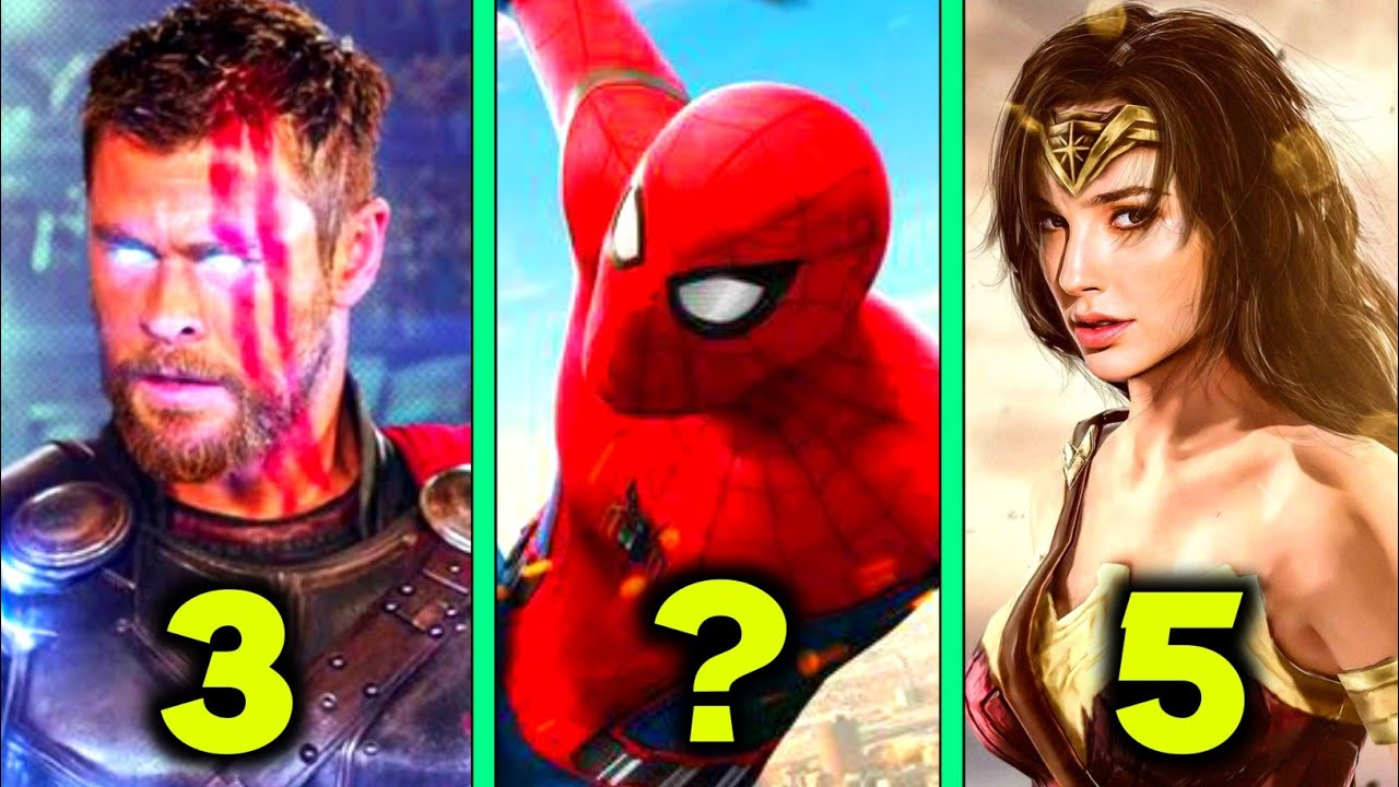 Download Top 10 Popular Superheroes in Hindi    Top 10 most Popular Superheroes Marvel and DC 2021     Ep 07