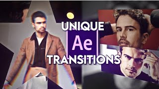 UNIQUE transition combinations | after effects
