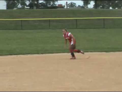 Sarah Schwalm Softball Skills Video