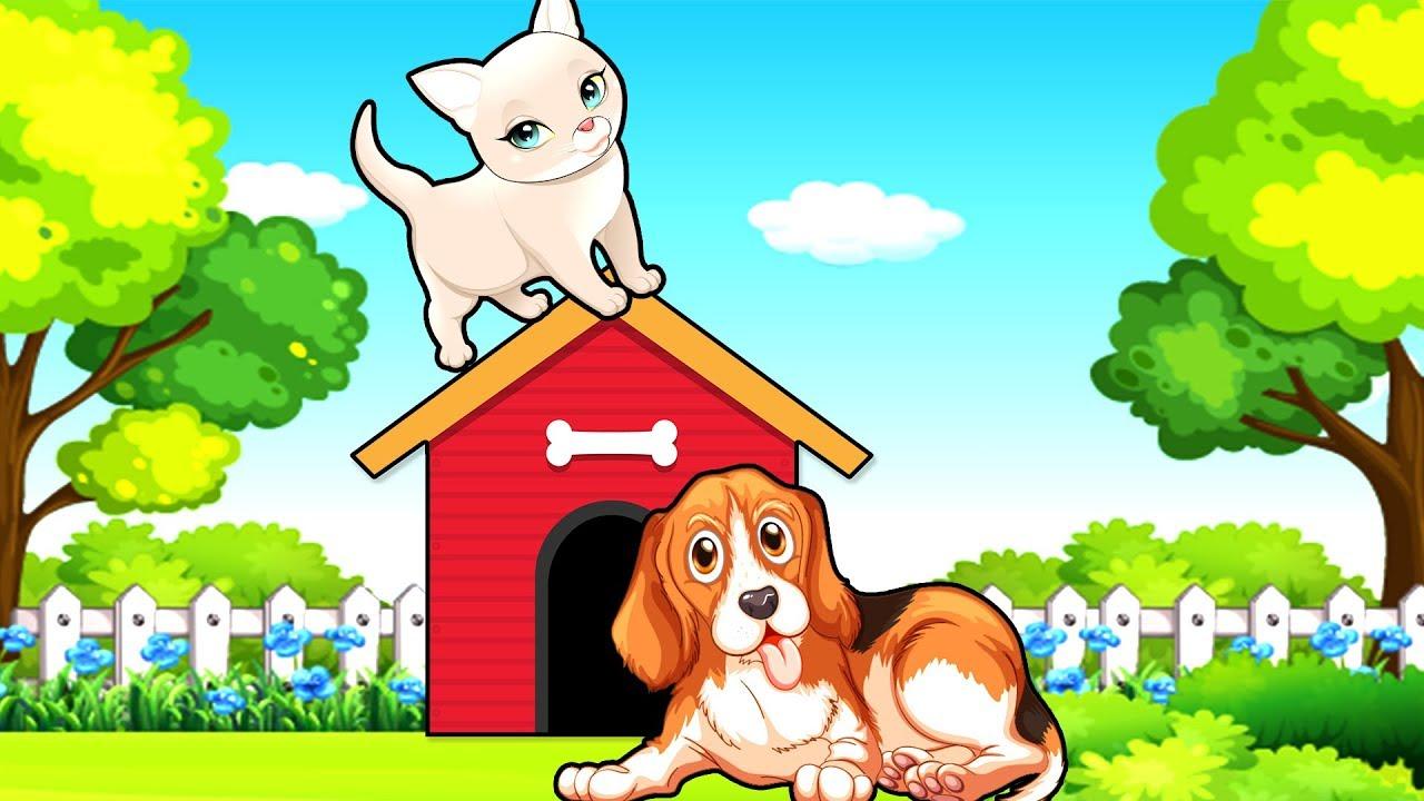 Мультик для детей сборник 2018 кот и собака - YouTube