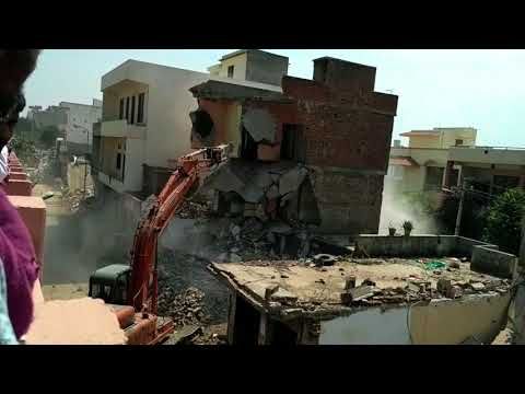 Building Collapse By JDA Gopalpura Bypass JAIPUR Part-8