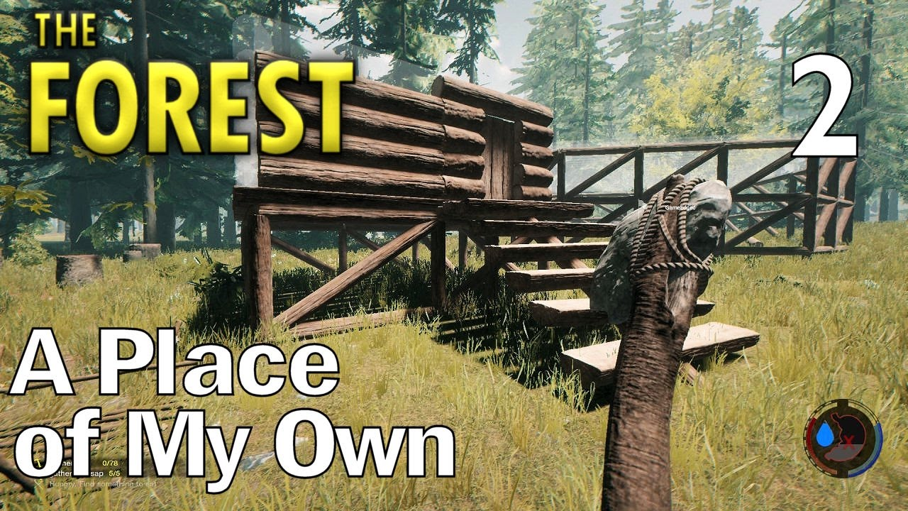 the forest ep 2 a place of my own multiplayer the forest gameplay s1 youtube. Black Bedroom Furniture Sets. Home Design Ideas