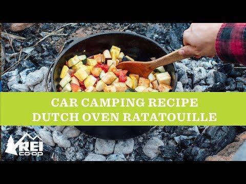 REI Camping Recipe: Dutch Oven Ratatouille
