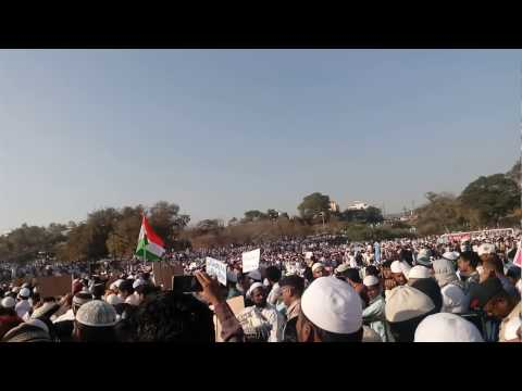 MUSLIM RESERVATION MAHA MORCHA IN AURANGABAD