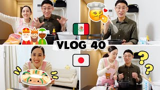 😊Japanese Husband Celebrates THREE KINGS DAY for the first time and made ROSCA 🇯🇵| Tania & Hayato